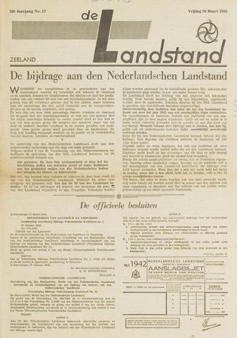 De landstand in Zeeland, geïllustreerd weekblad. 1943-03-26
