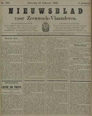 Nieuwsblad voor Zeeuwsch-Vlaanderen 1896-02-22