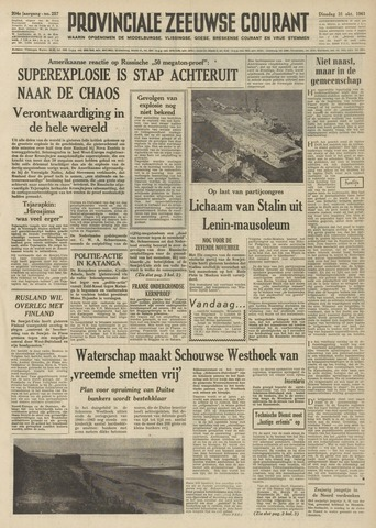 Provinciale Zeeuwse Courant 1961-10-31