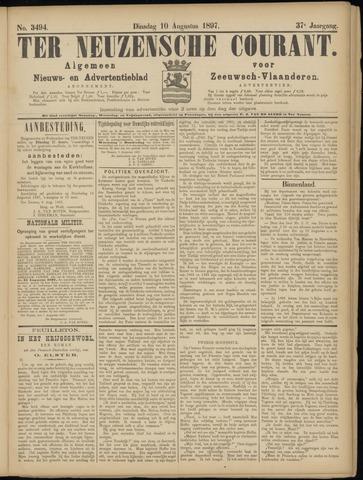 Ter Neuzensche Courant. Algemeen Nieuws- en Advertentieblad voor Zeeuwsch-Vlaanderen / Neuzensche Courant ... (idem) / (Algemeen) nieuws en advertentieblad voor Zeeuwsch-Vlaanderen 1897-08-10
