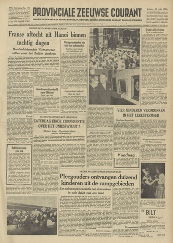 Provinciale Zeeuwse Courant 1954-07-23