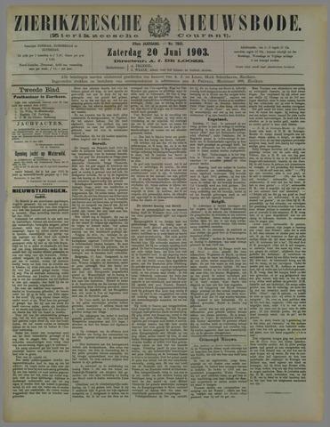 Zierikzeesche Nieuwsbode 1903-06-20