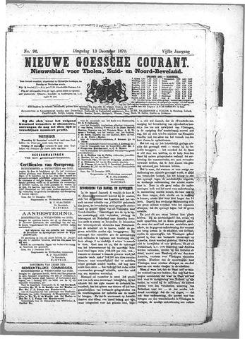 Nieuwe Goessche Courant 1870-12-13