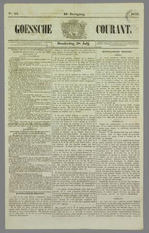 Goessche Courant 1859-07-28