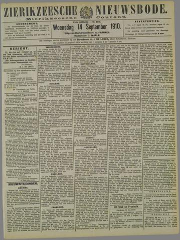 Zierikzeesche Nieuwsbode 1910-09-14