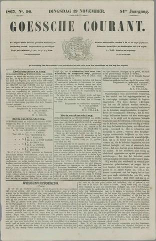 Goessche Courant 1867-11-19