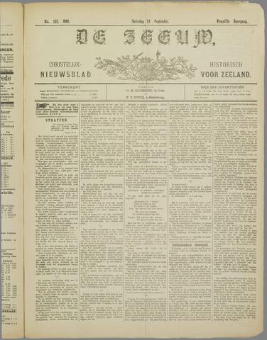 De Zeeuw. Christelijk-historisch nieuwsblad voor Zeeland 1898-09-24