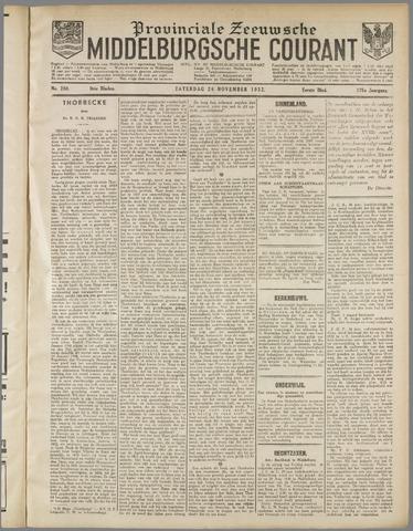 Middelburgsche Courant 1932-11-26