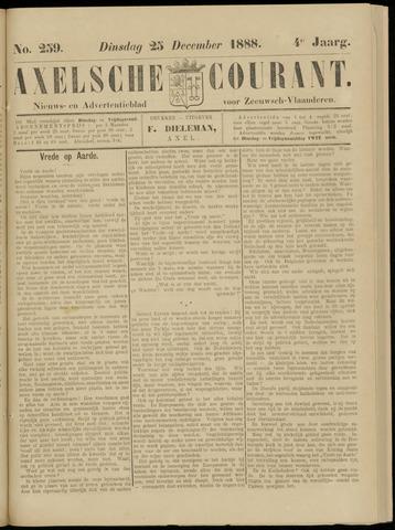 Axelsche Courant 1888-12-25