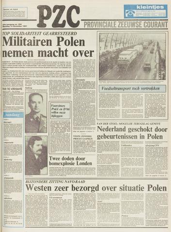 Provinciale Zeeuwse Courant 1981-12-14