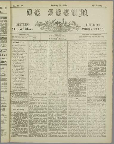 De Zeeuw. Christelijk-historisch nieuwsblad voor Zeeland 1896-10-29