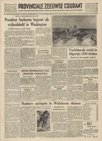 Provinciale Zeeuwse Courant 1956-05-17