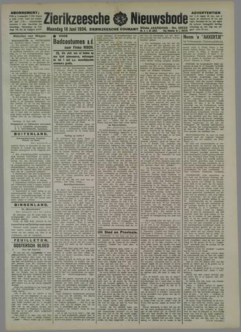 Zierikzeesche Nieuwsbode 1934-06-18