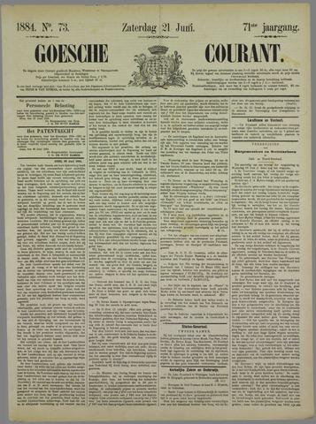 Goessche Courant 1884-06-21