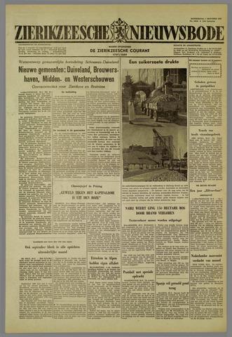 Zierikzeesche Nieuwsbode 1959-10-01