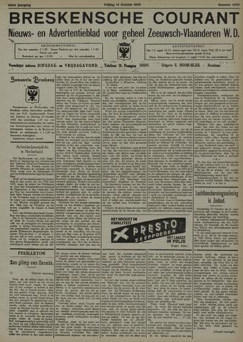 Breskensche Courant 1938-10-14