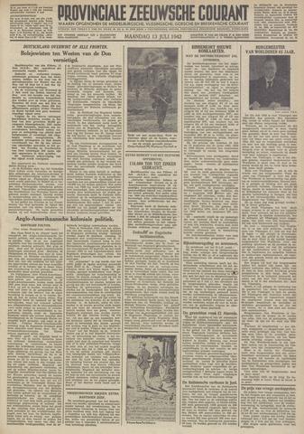 Provinciale Zeeuwse Courant 1942-07-13
