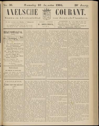 Axelsche Courant 1904-08-10