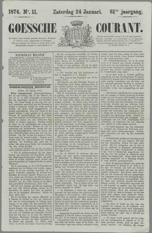 Goessche Courant 1874-01-24