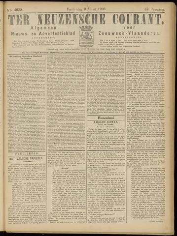 Ter Neuzensche Courant. Algemeen Nieuws- en Advertentieblad voor Zeeuwsch-Vlaanderen / Neuzensche Courant ... (idem) / (Algemeen) nieuws en advertentieblad voor Zeeuwsch-Vlaanderen 1905-03-09