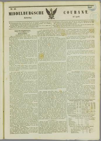 Middelburgsche Courant 1847-04-17