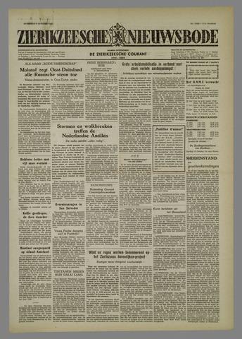 Zierikzeesche Nieuwsbode 1954-10-09