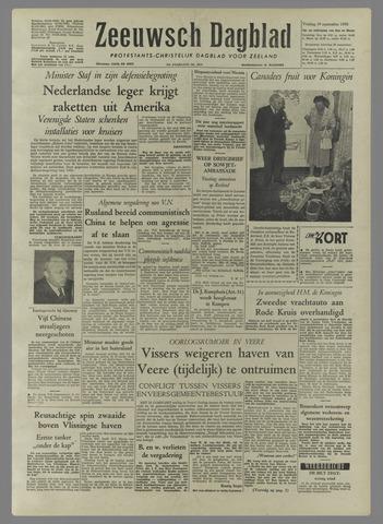 Zeeuwsch Dagblad 1958-09-19