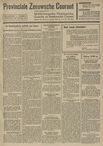 Provinciale Zeeuwse Courant 1941-01-22