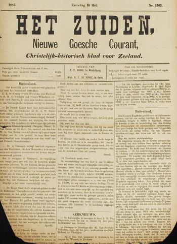 Het Zuiden, Christelijk-historisch blad 1885-05-16
