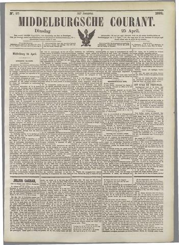 Middelburgsche Courant 1899-04-25