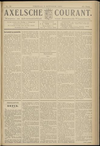 Axelsche Courant 1931-10-09