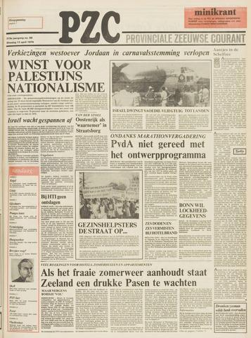 Provinciale Zeeuwse Courant 1976-04-13
