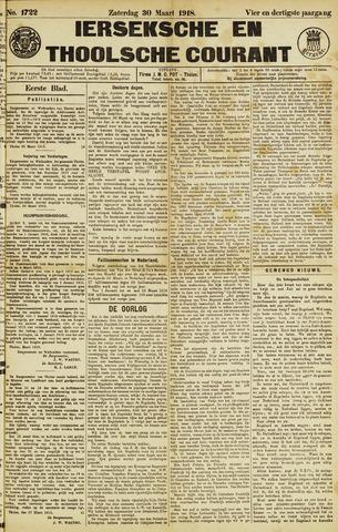 Ierseksche en Thoolsche Courant 1918-03-30