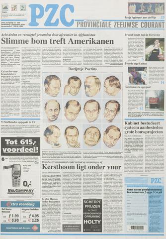 Provinciale Zeeuwse Courant 2001-12-06