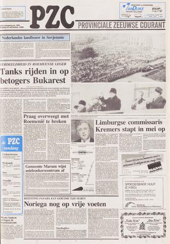 Provinciale Zeeuwse Courant 1989-12-22