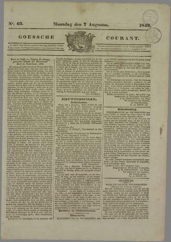 Goessche Courant 1843-08-07