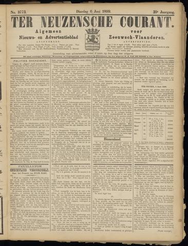 Ter Neuzensche Courant. Algemeen Nieuws- en Advertentieblad voor Zeeuwsch-Vlaanderen / Neuzensche Courant ... (idem) / (Algemeen) nieuws en advertentieblad voor Zeeuwsch-Vlaanderen 1899-06-06