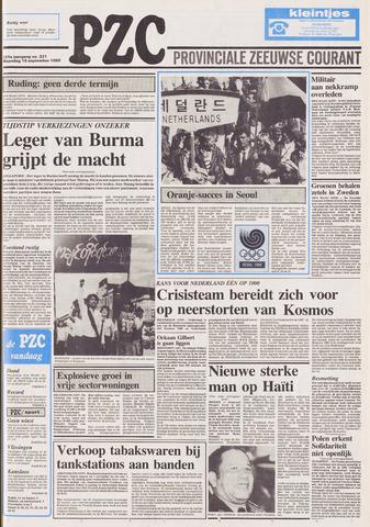 Provinciale Zeeuwse Courant 1988-09-19