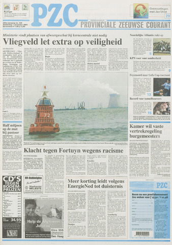 Provinciale Zeeuwse Courant 2001-11-01