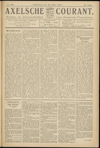 Axelsche Courant 1933-03-28