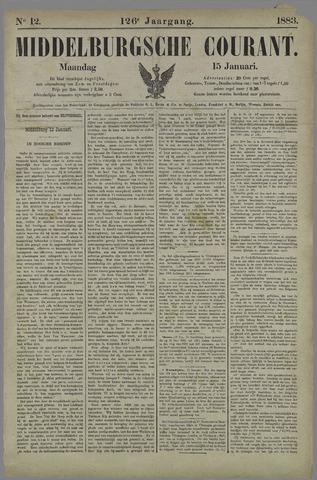 Middelburgsche Courant 1883-01-15