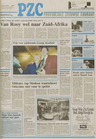Provinciale Zeeuwse Courant 1992-01-21