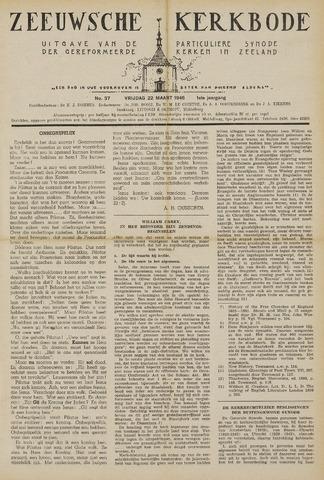 Zeeuwsche kerkbode, weekblad gewijd aan de belangen der gereformeerde kerken/ Zeeuwsch kerkblad 1946-03-22