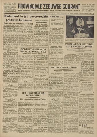 Provinciale Zeeuwse Courant 1949-08-05
