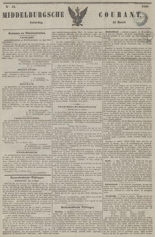 Middelburgsche Courant 1850-03-16