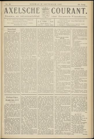 Axelsche Courant 1927-09-27