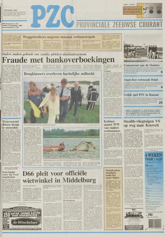 Provinciale Zeeuwse Courant 1996-09-13