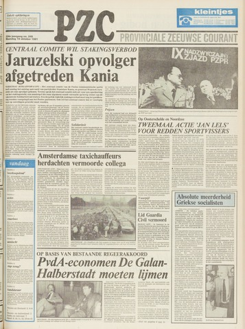 Provinciale Zeeuwse Courant 1981-10-19