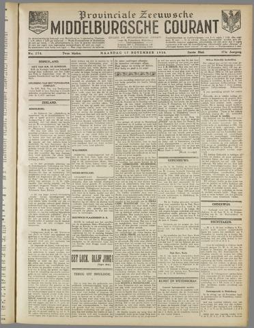 Middelburgsche Courant 1930-11-17