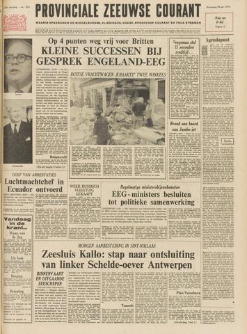 Provinciale Zeeuwse Courant 1970-10-28